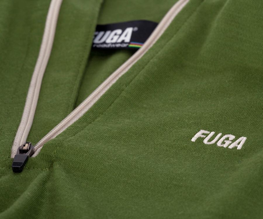 etichetta corporate tessuta in iperdefinzione, fondo nero + 5 colori 192 merino jersey issue No.3 in 100% lana merino, 190 gr interlock